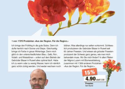 Migros Luzern I Storytellinganzeigen